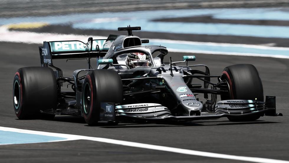 Hamilton logró lo mejor en Paul Ricard