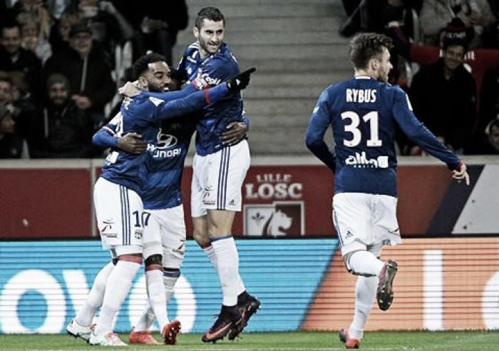 Com gol de Cornet, Lyon vence Lille e mantém recuperação na Ligue 1