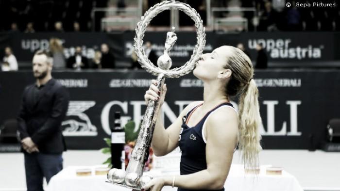 WTA: Cibulkova é campeã em Linz e Wozniacki garante o título em Hong Kong