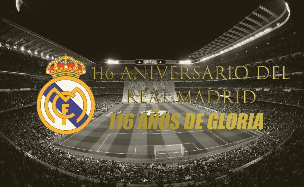 116 aniversario del Real Madrid, 116 años de gloria