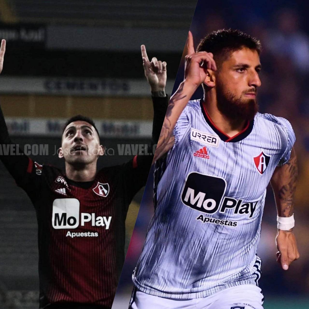 Crisis de gol en Atlas: Jeraldino y Correa
