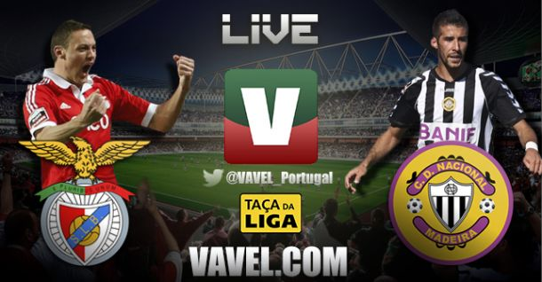 Nacional x Benfica, directo