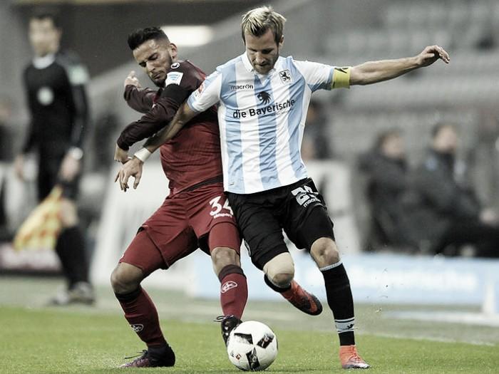 Kaiserslautern busca empate em duelo equilibrado com 1860 Munique na 2. Bundesliga