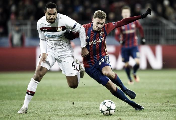 Leverkusen sai na frente, mas cede empate ao CSKA e adia classificação na UCL