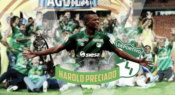 Deportivo Cali 2015-I:Harold Preciado