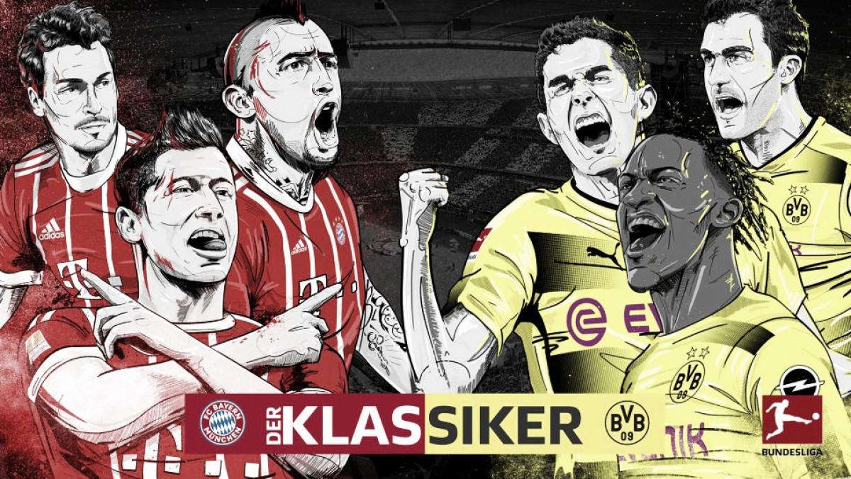 No último Klassiker da temporada, Bayern visa sacramentar hexa nacional diante do Dortmund