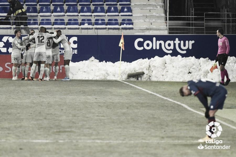 Javier Ontivero, derrotado. Foto: LaLiga.