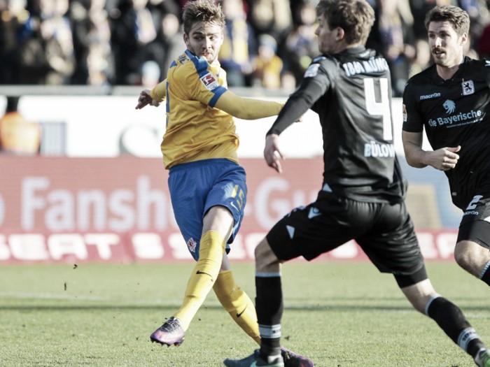 Braunschweig supera 1860 Munique e se mantém na liderança da 2. Bundesliga