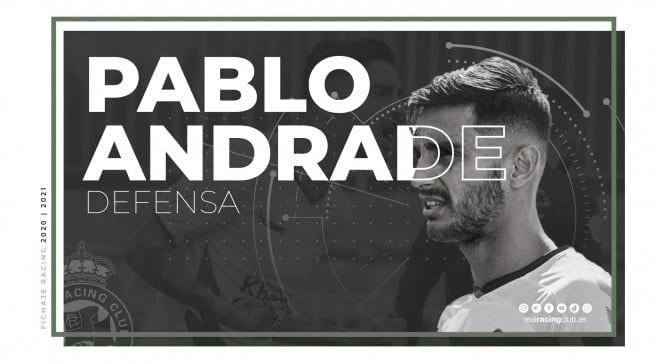 Pablo Andrade se incorpora a la familia racinguista
