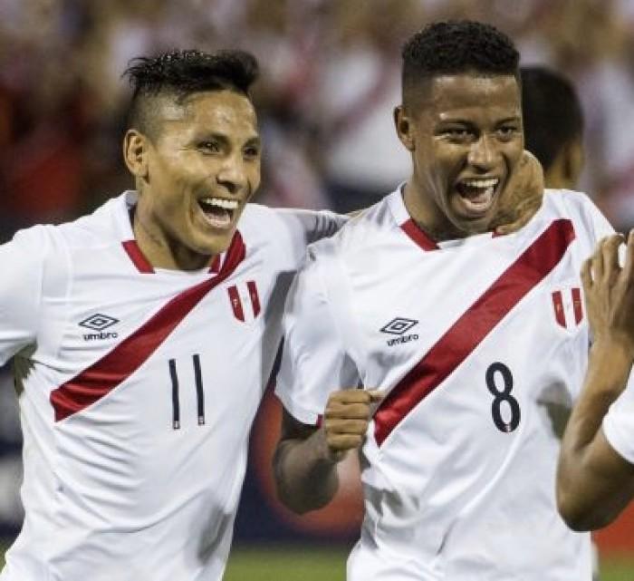 Convocados peruanos
