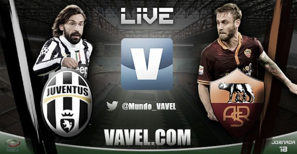 Resultado Juventus - Roma en la Serie A 2014 (3-0)