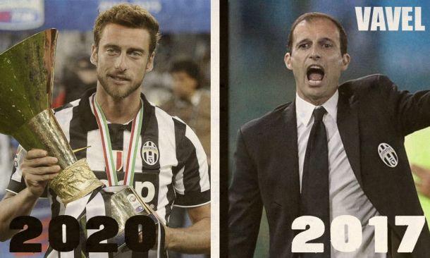Allegri (2017) y Marchisio (2020) renuevan para guiar a la nueva Juventus
