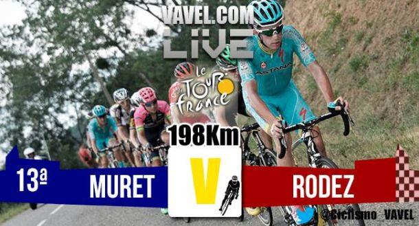 Resultados de la etapa trece del Tour de Francia 2015: Muret - Rodez