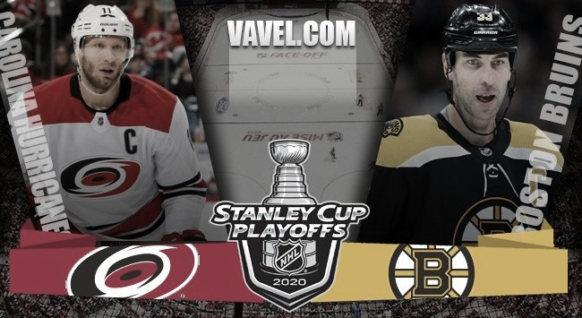 Previa Boston Bruins - Carolina Hurricanes: una eliminatoria con trampa
