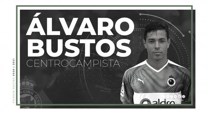 Álvaro Bustos se incorpora a la familia Racinguista