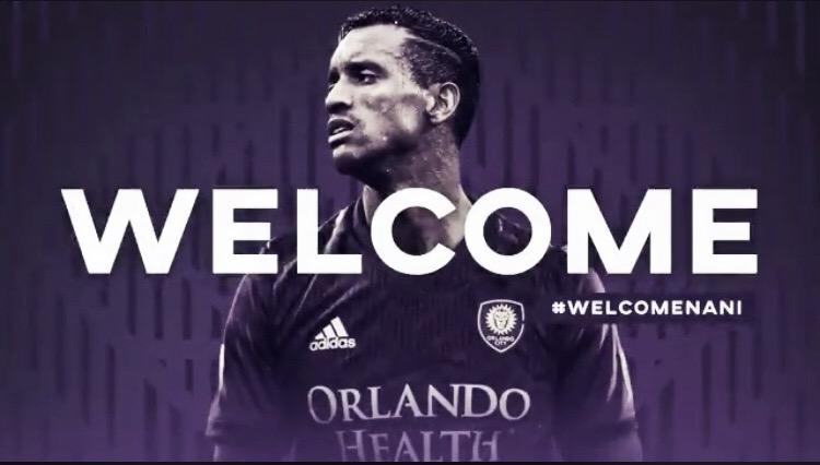 Orlando City SC firma a Nani
