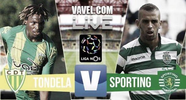 Resultado Tondela x Sporting na Liga NOS (1-2)