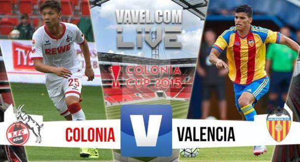 Resultado Köln vs Valencia en Colonia Cup 2015 (3-2)