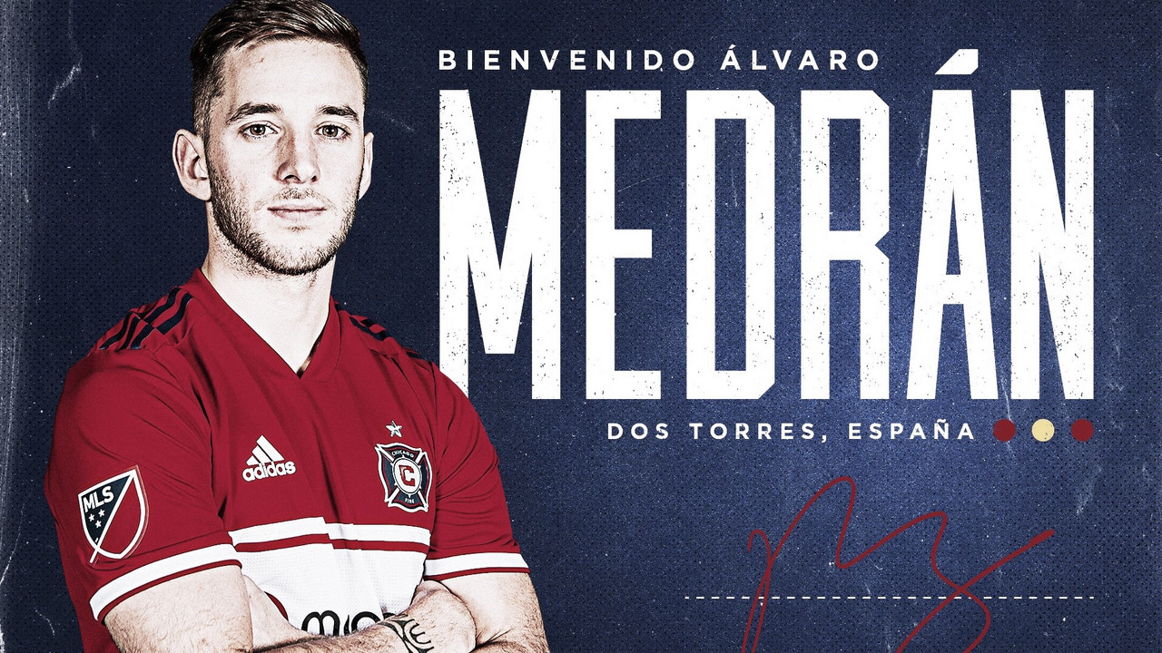 Álvaro Medrán se incorpora a Chicago Fire