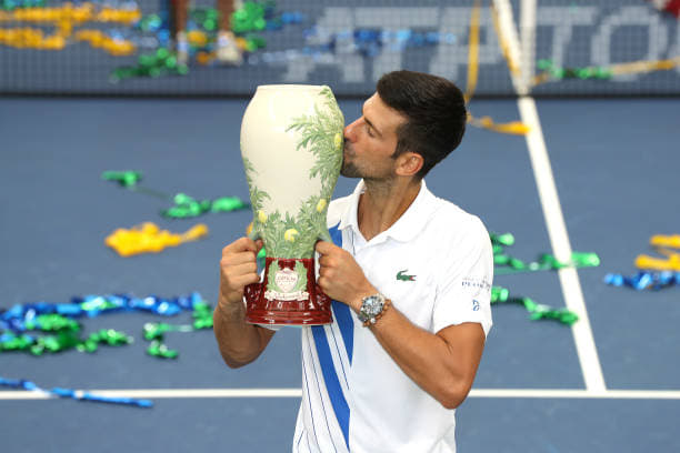 Western and Southern Open: Novak Djokovic beats Milos Raonic to win the title