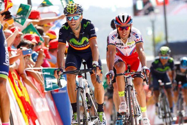 "Alejandro Valverde: ""Seguimos vivos en esta Vuelta"""