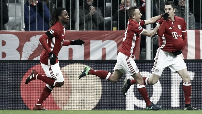 Lewandowski marca de falta e Bayern de Munique vence Atlético de Madrid pela UCL