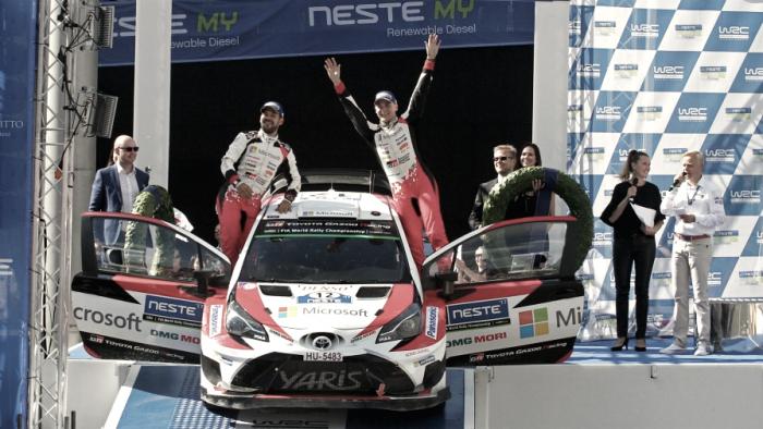 Lappi consigue su primera victoria WRC en Finlandia