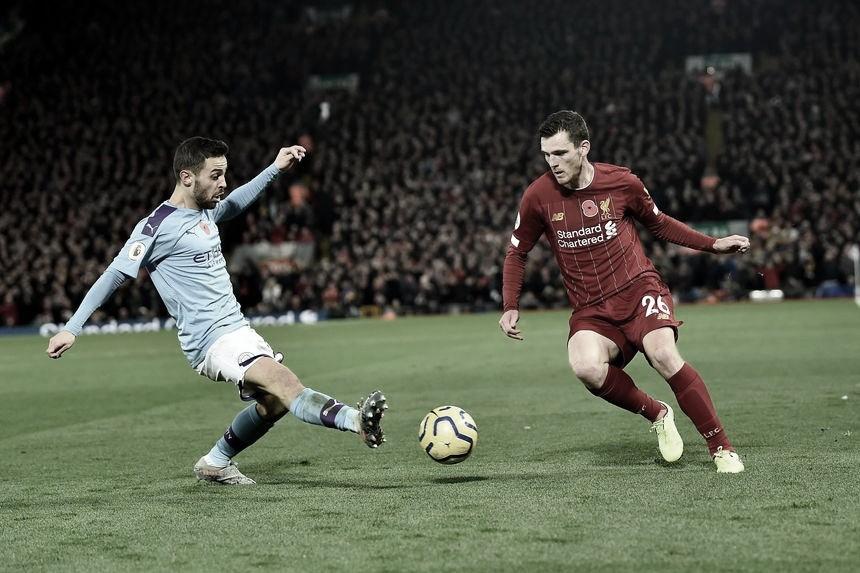 Com a cabeça na FA Cup, Manchester City recebe campeão Liverpool pela Premier League