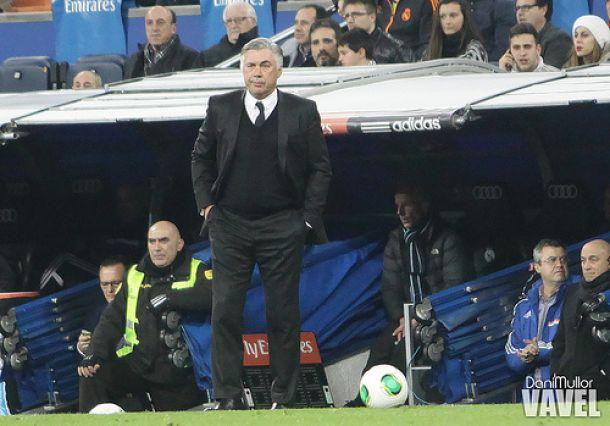 """Carlo Ancelotti: """"Con el 4-4-2 nos sentimos cómodos"""""""