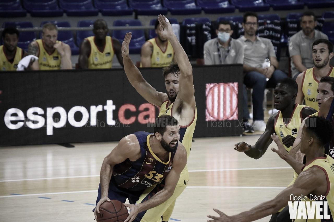 El Morabanc Andorra gana la Lliga Catalana en la primera derrota de Jasikevicius
