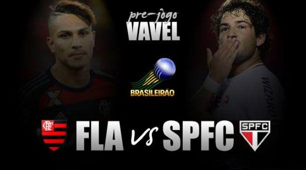 Jogo São Paulo x Flamengo AO VIVO online pelo Brasileirão 2016 (0-0)