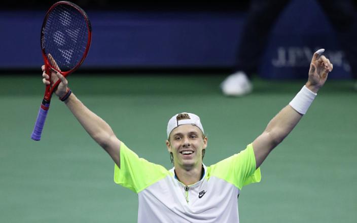 US Open: Denis Shapovalov battles past Goffin to make quarterfinals