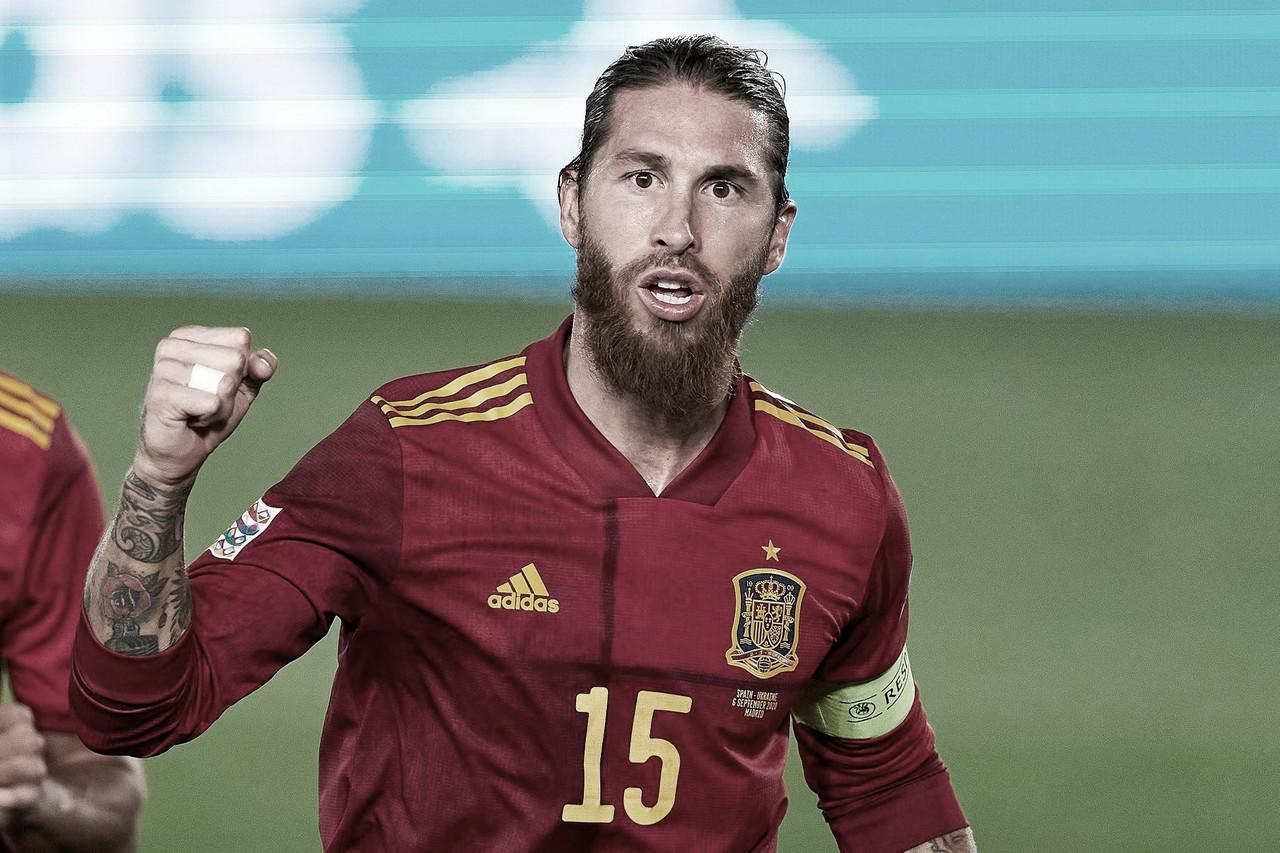 Sergio Ramos, el emblema vigente de 'La Roja'