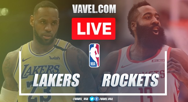 Full Highlights Lakers 110 100 Rockets In 2020 Nba Playoffs 09 11 2020 Vavel Usa