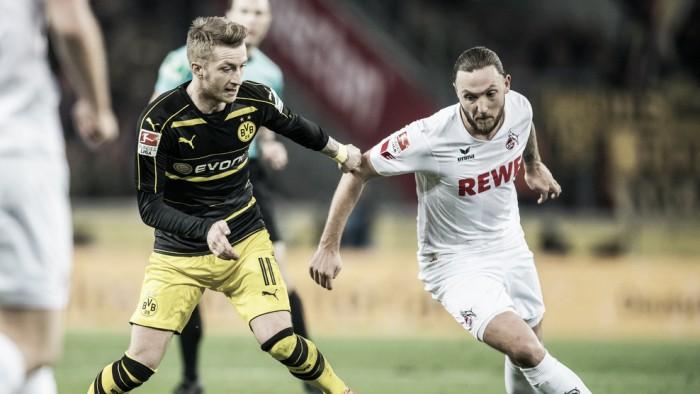 Reus marca nos acréscimos e Borussia Dortmund arranca empate fora de casa contra Colônia