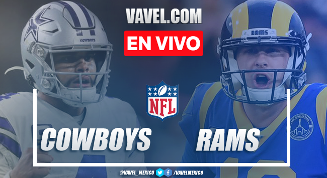 Resumen y touchdowns del Dallas Cowboys 17 - 20 Los Ángeles Rams en NFL 2020