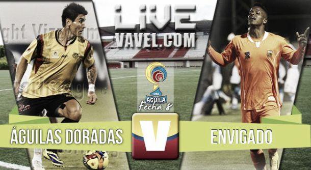 Resultado Águilas Doradas - Envigado en Liga Águila 2015-II(0-2)