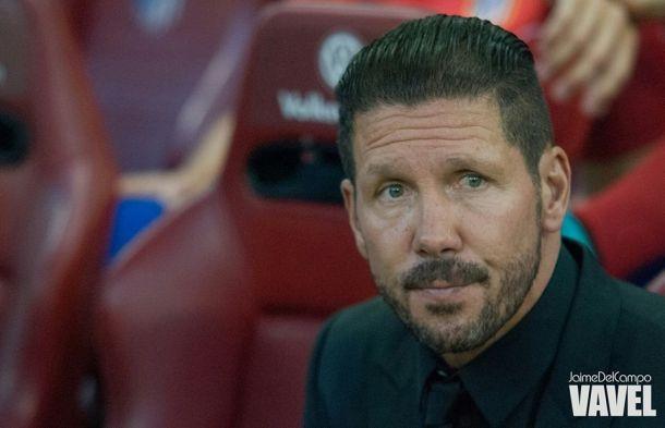 """Simeone: """"Seguimos mirando a Valencia, Sevilla y Villarreal"""""""