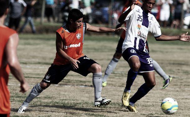No primeiro jogo-treino do ano, Fluminense derrota o Grêmio Mangaratibense