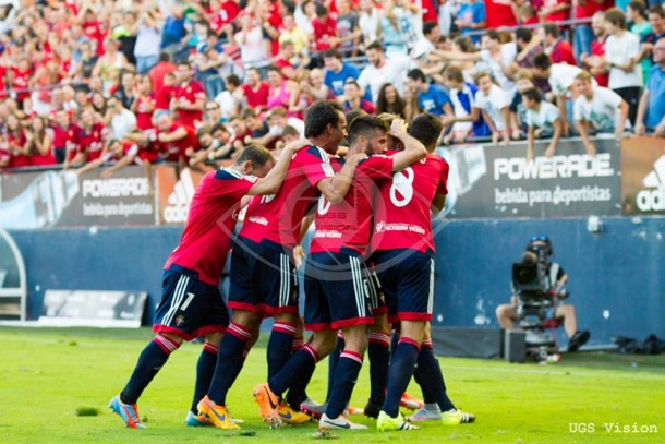 Osasuna - Alcorcón: puntuaciones de Osasuna, jornada 15 de Liga Adelante