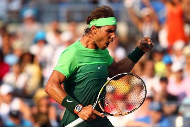 Rafael Nadal sua, mas vence Diego Schwartzman e avança no US Open