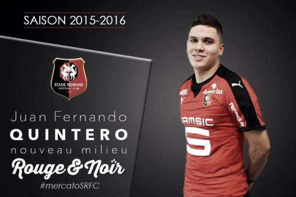 Juan Fernando Quintero y un nuevo aire: Stade Rennais