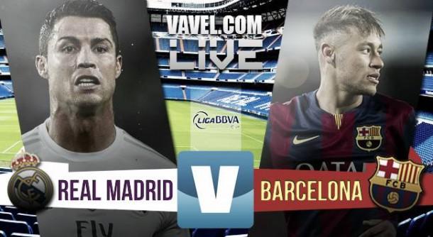Partita Real Madrid-Barcellona 2015 in Clasico spagnolo (0-4)
