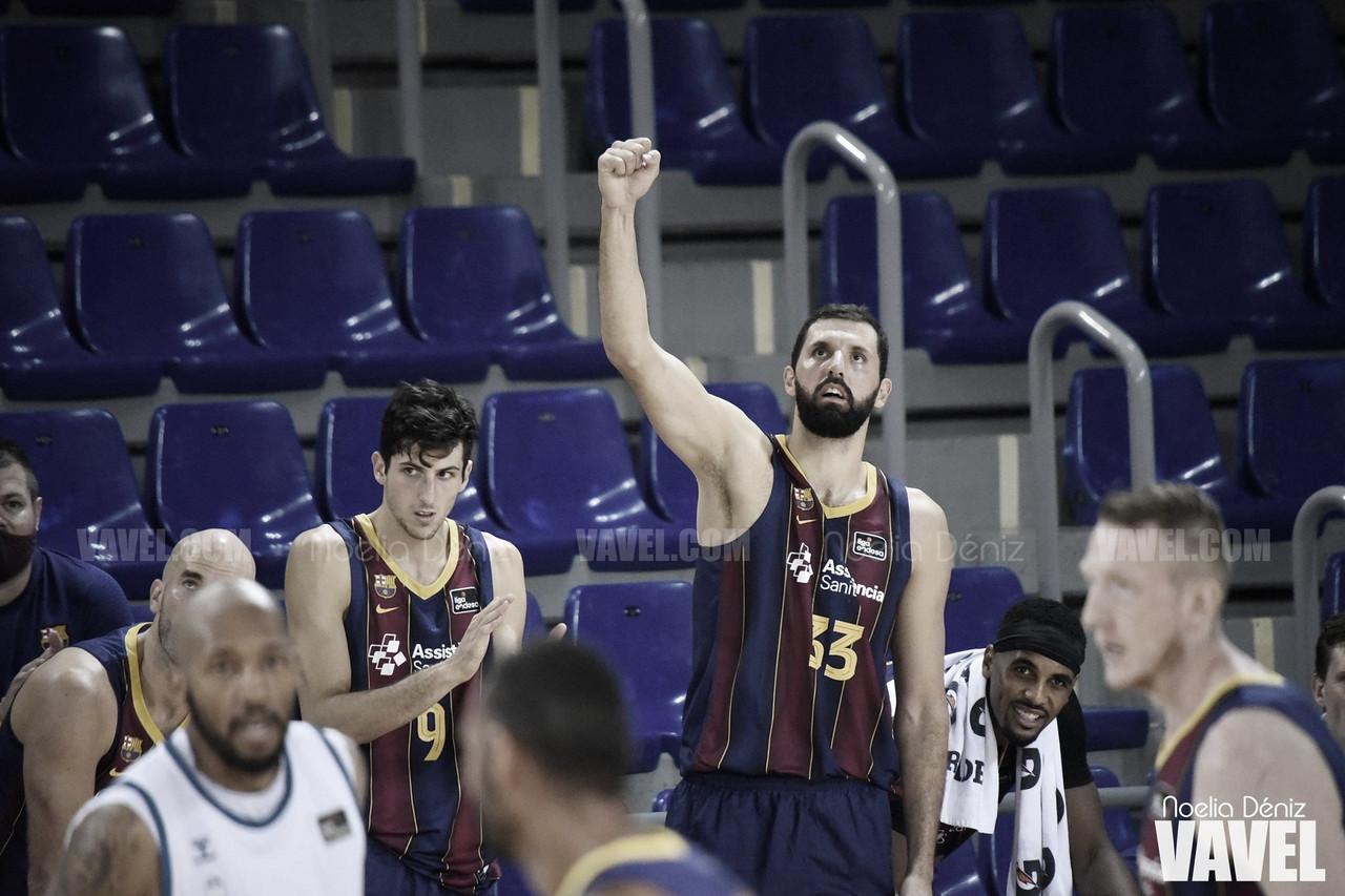 El Barça sufre para lograr la primera victoria liguera