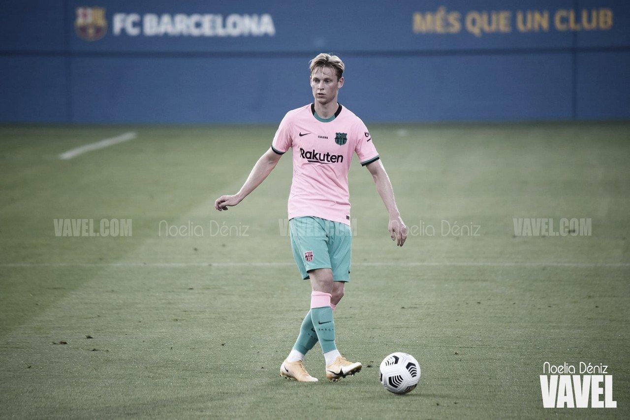 De Jong ante el Girona en pretemporada | Foto: VAVEL