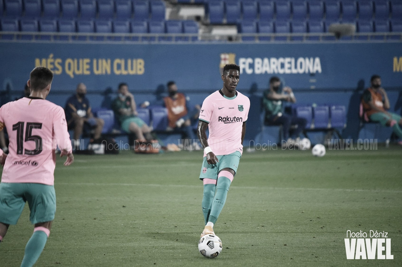 Junior Firpo, baja en la convocatoria del Barcelona