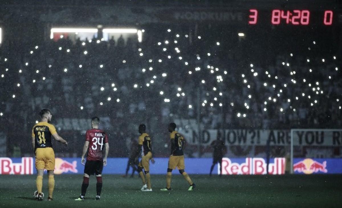 """Marco Rose celebra vantagem do Salzburg na Champions: """"Noite especial"""""""