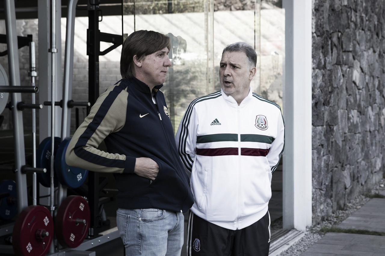 Martino visitó a Pumas