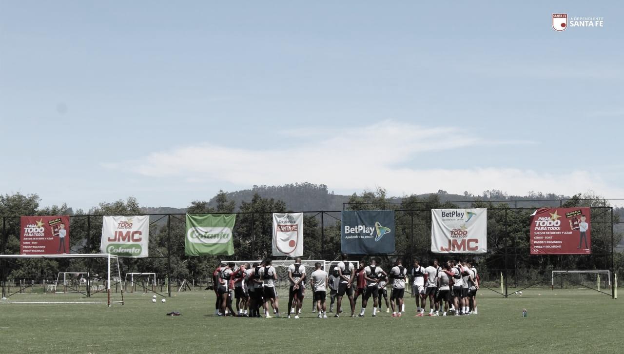 Los convocados de Santa Fe para el debut en Copa Libertadores