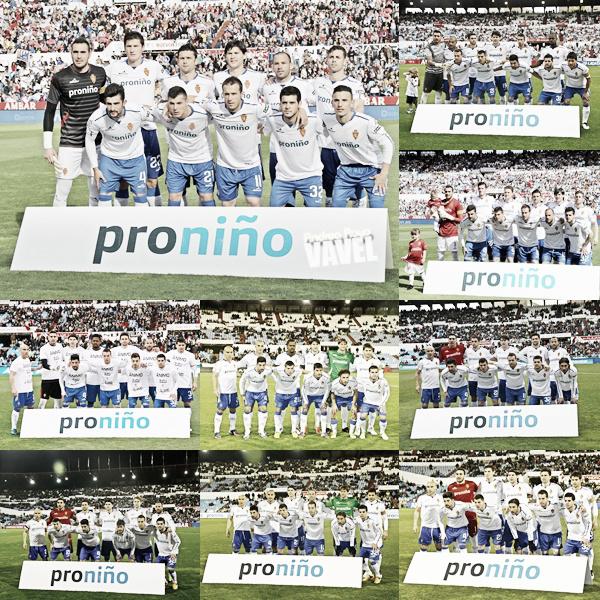Puntuaciones del Real Zaragoza, temporada 2012/13
